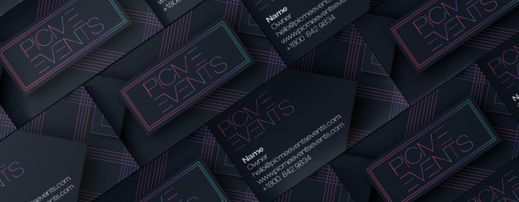 business card logo design print solutions